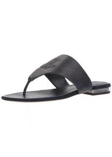 Lauren Ralph Lauren Women's Deandra-SN-CSL Flat Sandal  8 B US