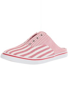 Lauren Ralph Lauren Women's Jaida Sneaker red/White 11 B US