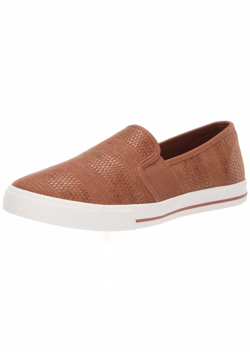 Lauren Ralph Lauren Women's Jinny Sneaker tan  B US