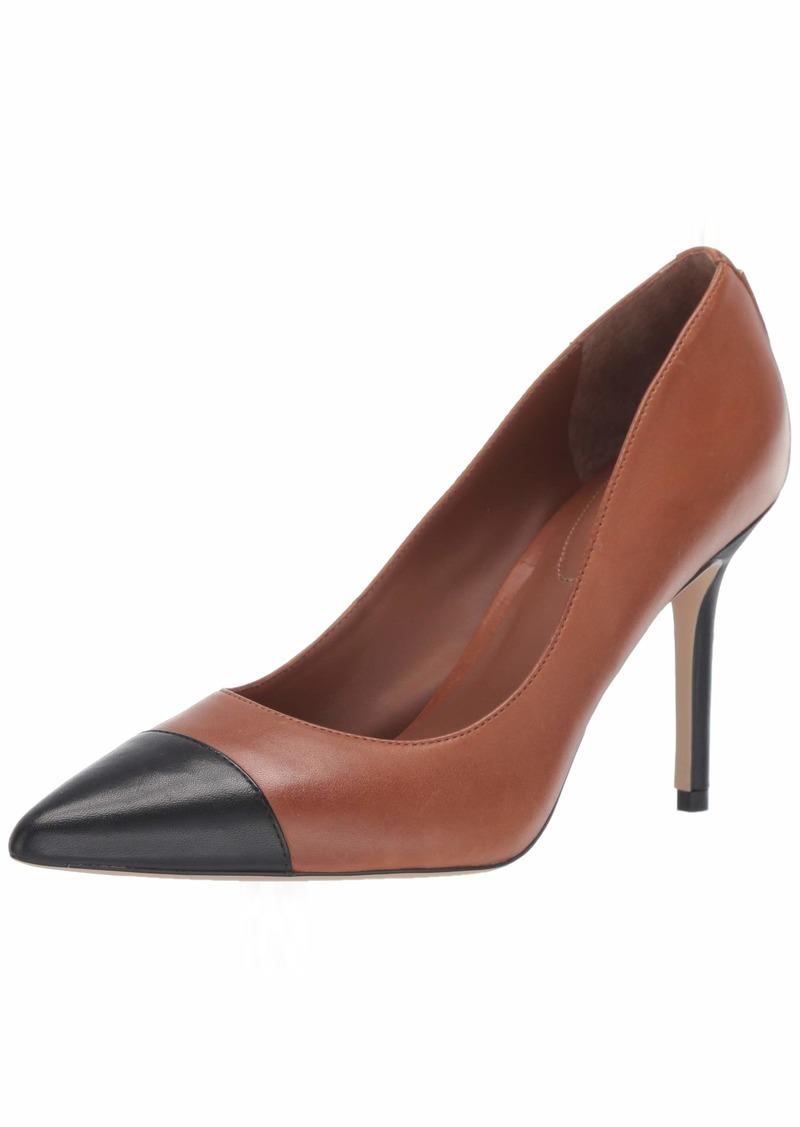 Lauren Ralph Lauren Women's LINDELLA Shoe DEEP Saddle TAN/Black 11 B US