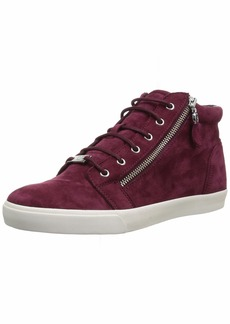 Lauren Ralph Lauren Women's REACE Sneaker Dark red 5 B US