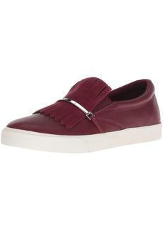 Lauren Ralph Lauren Women's Reanna Sneaker red 10 B US