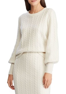 Lauren Ralph Lauren Wool & Cashmere Blend Sweater