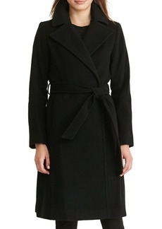 Lauren Ralph Lauren Wool & Cashmere Wrap Coat