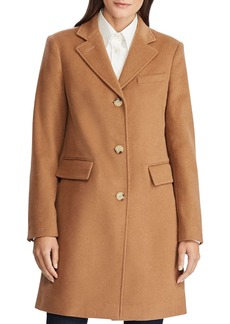 Lauren Ralph Lauren Wool-Blend Reefer Coat