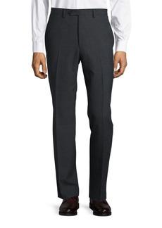 Lauren Ralph Lauren Wool-Blend Straight-Leg Pants