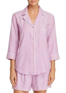 Lauren Ralph Lauren Woven Short Pajama Set