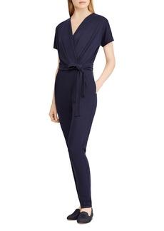 Lauren Ralph Lauren Wrap Front Jumpsuit