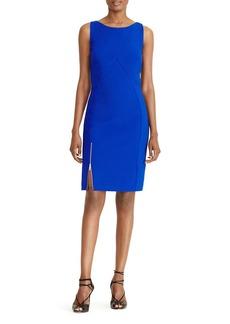 Lauren Ralph Lauren Zip-Detail Sheath Dress