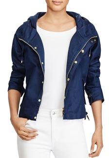 Lauren Ralph Lauren Zip-Front Hooded Jacket