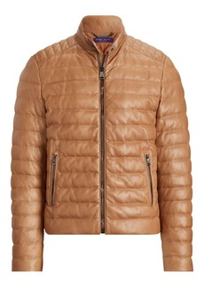 Ralph Lauren Lawton Quilted Leather Jacket