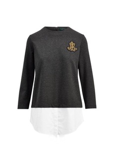 Ralph Lauren Layered Bullion Patch Shirt