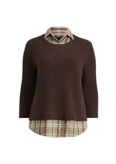 Ralph Lauren Layered Cotton Shirt