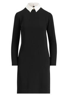 Ralph Lauren Layered Crepe Dress