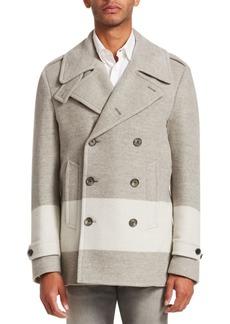 Ralph Lauren Leadenhall Wool-Blend Peacoat