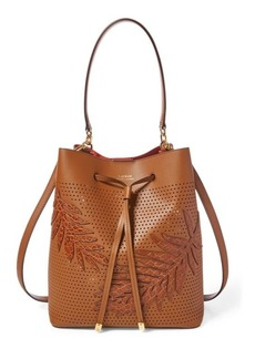 Ralph Lauren Leaf Debby Drawstring Bag