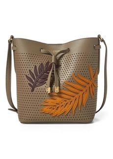 Ralph Lauren Leaf Debby II Drawstring Bag