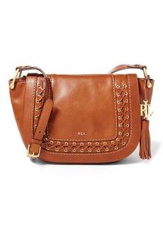 Ralph Lauren Leather Amari Saddle Bag