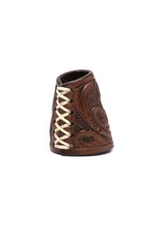 Ralph Lauren leather bandana slider