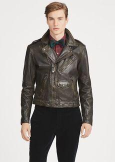 Ralph Lauren Leather Biker Jacket