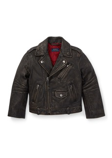 Ralph Lauren Leather Biker Jacket