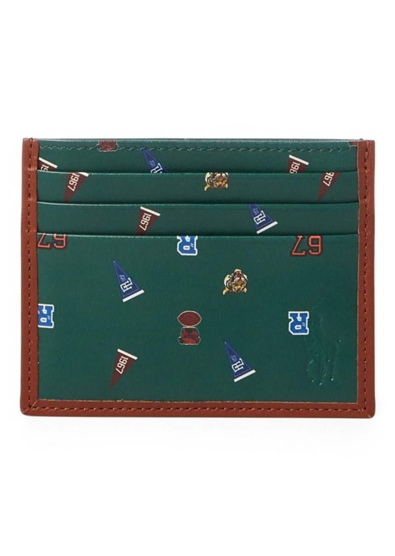 Ralph Lauren Leather Card Case