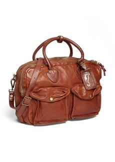 Ralph Lauren Leather Cargo Briefcase