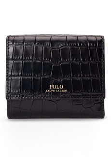 Ralph Lauren Leather Compact Wallet