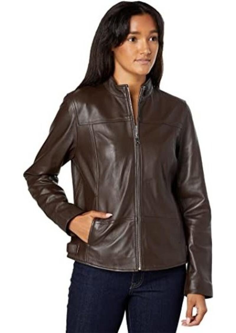 Ralph Lauren Café Racer Leather Jacket