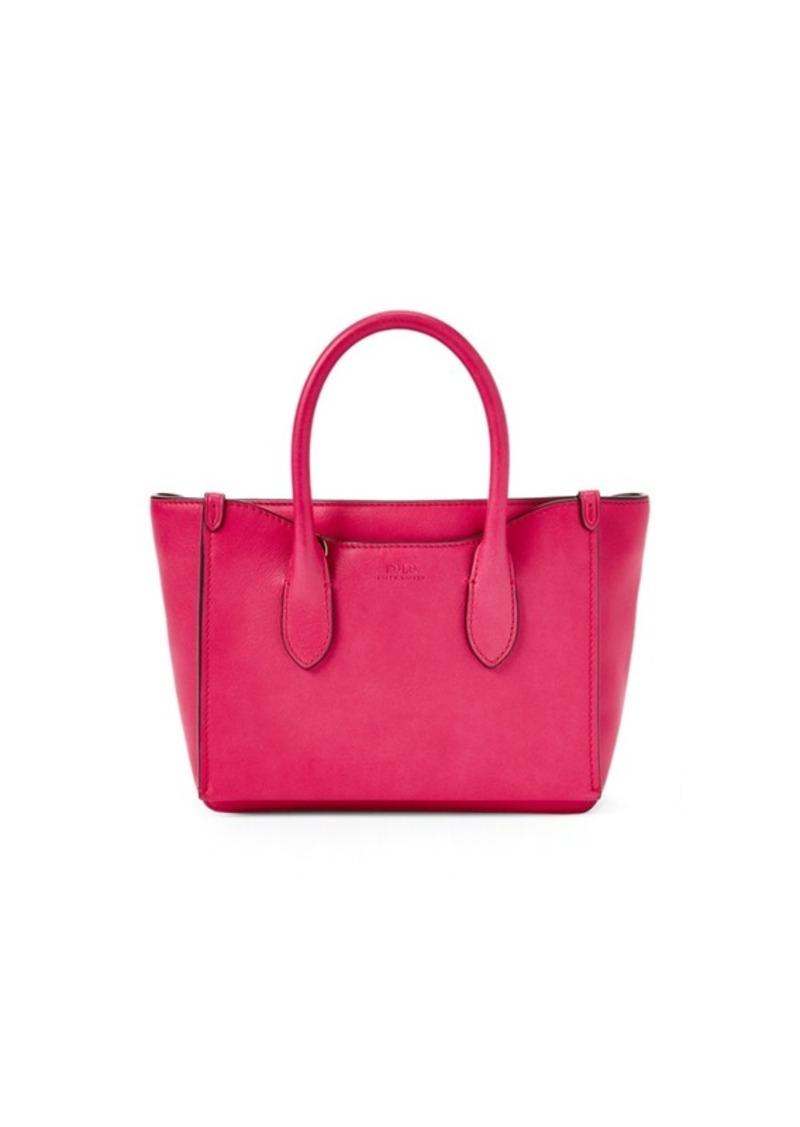 Ralph Lauren Leather Mini Sloane Satchel