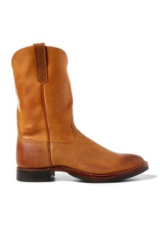 Ralph Lauren Leather Roper Boot