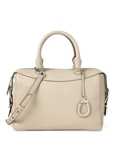 Ralph Lauren Leather Satchel