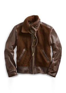 Ralph Lauren Leather-Shearling Jacket