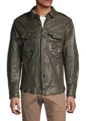 Ralph Lauren Polo Leather Shirt Jacket