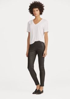 Ralph Lauren Leather Skinny Pant