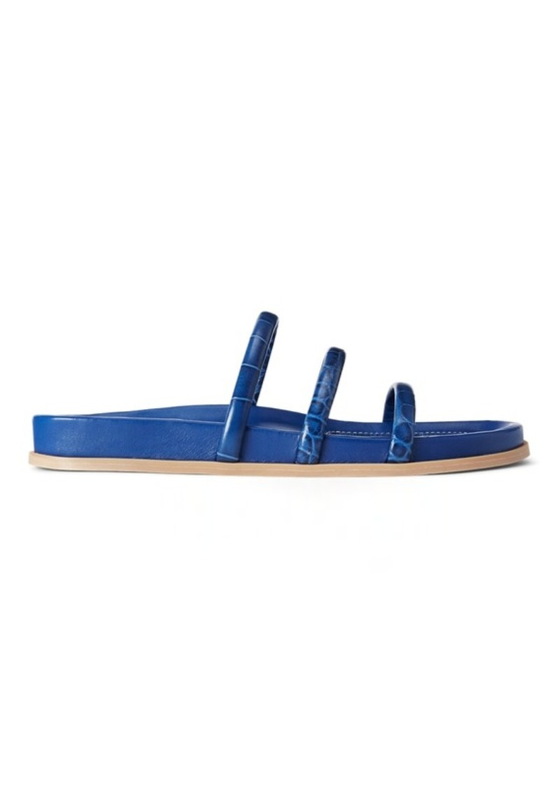 Ralph Lauren Leather Slide Sandal