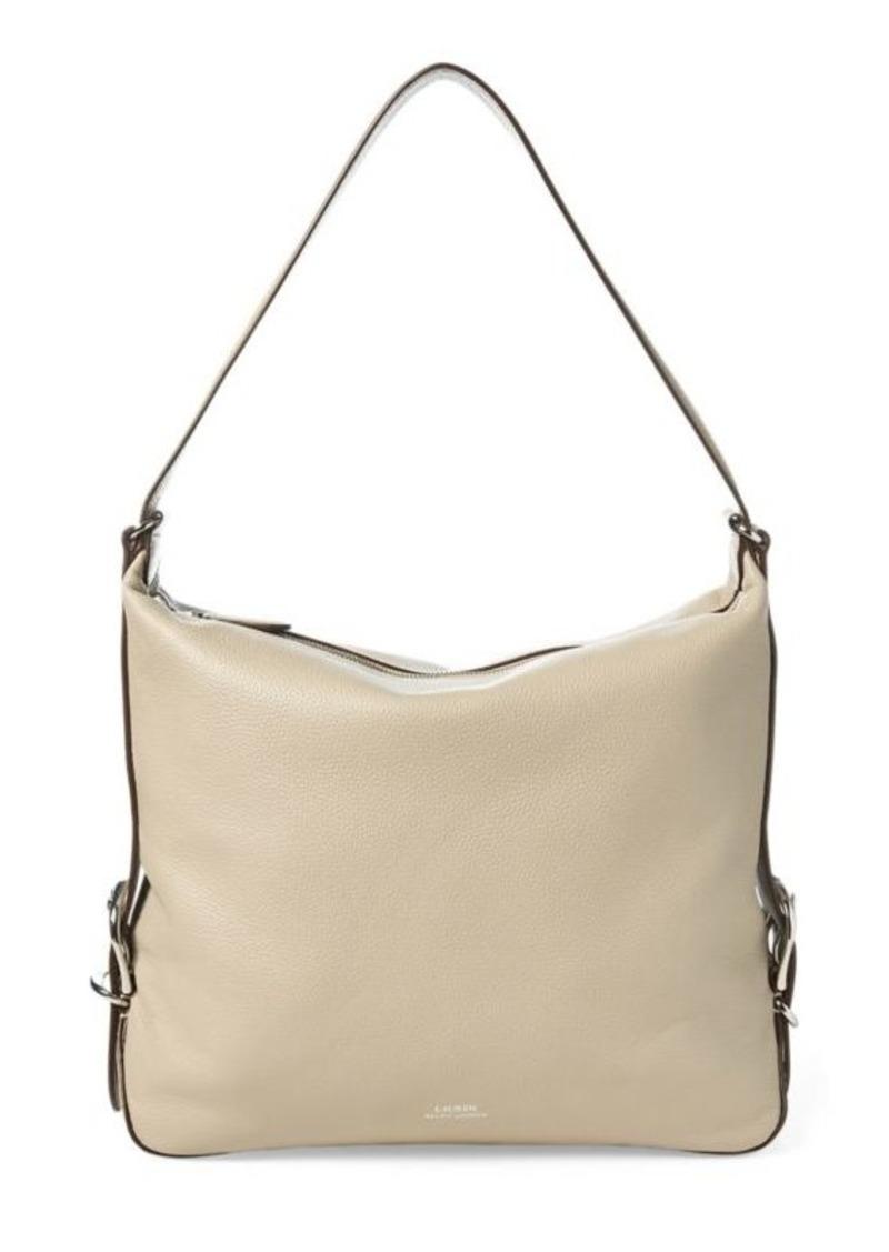 Ralph Lauren Leather Slouch Hobo Bag