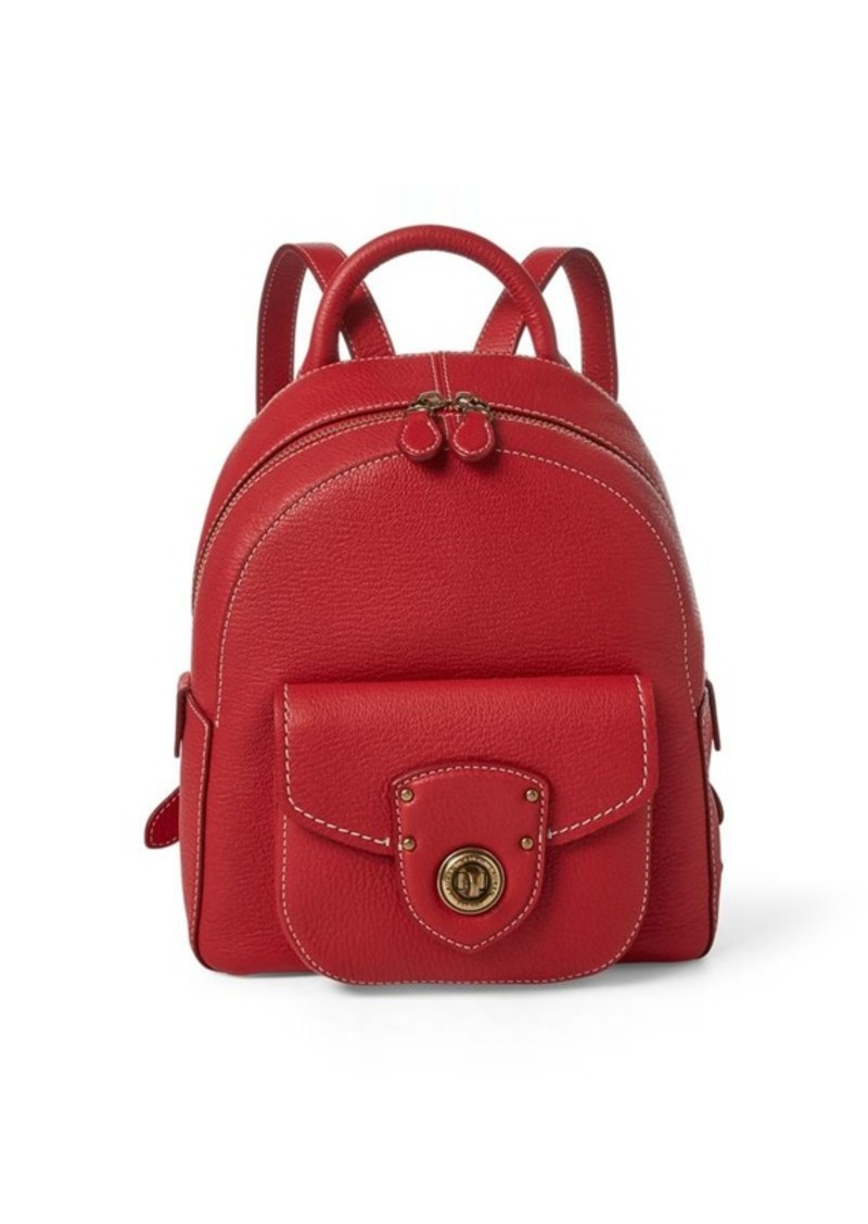 Ralph Lauren Leather Small Backpack