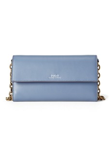 Ralph Lauren Leather Small Chain Wallet