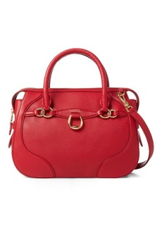 Ralph Lauren Leather Small Satchel