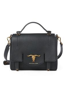 Ralph Lauren Leather Small Schooly Bag