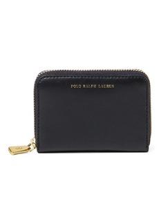 Ralph Lauren Leather Small Zip Wallet