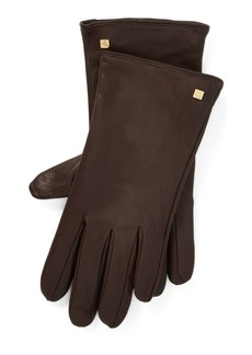 Ralph Lauren Leather Tech Gloves