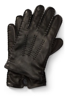Ralph Lauren Leather Touch Screen Gloves