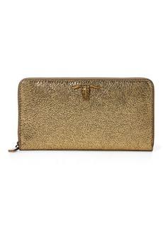 Ralph Lauren Leather Zip-Around Wallet