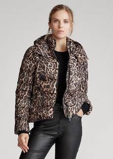 Ralph Lauren Leopard-Print Down Jacket