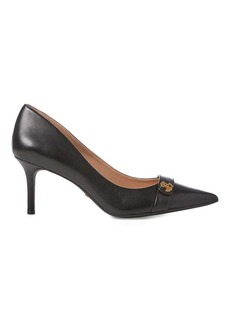 Ralph Lauren Leyna Leather Pump