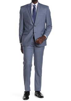 Ralph Lauren Light Blue Sharkskin Two Button Notch Lapel Suit