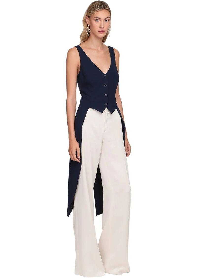 Ralph Lauren Light Wool Blend Vest Top W/ Tail
