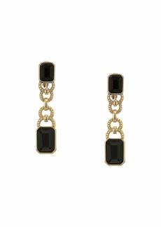 Ralph Lauren Linear Clip Earrings